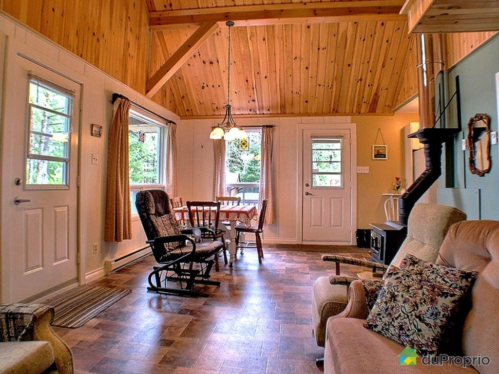 Chalet vendu lac drolet immobilier qu bec duproprio - Amortissement appartement meuble ...