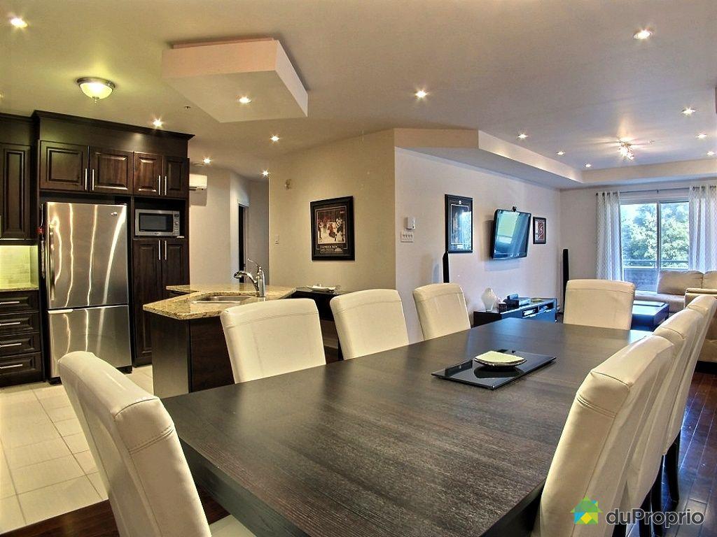 Decoration cuisine salon aire ouverte avec - Salon cuisine aire ouverte ...
