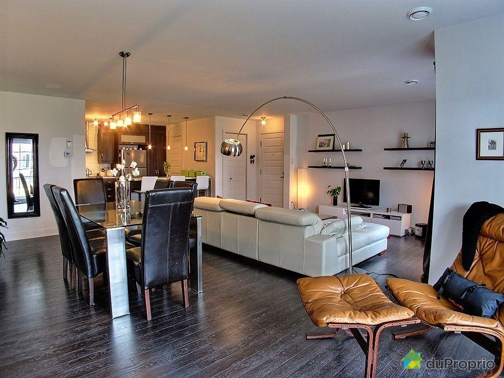 Cuisine moderne maison ancienne condo a vendre mascouche for Couleur cuisine salon air ouverte