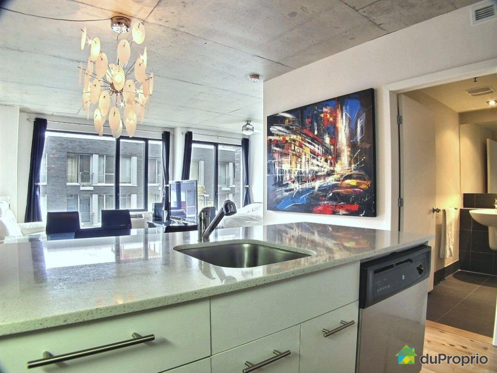 Condo vendu montr al immobilier qu bec duproprio 463904 for Cuisine ouverte tard montreal