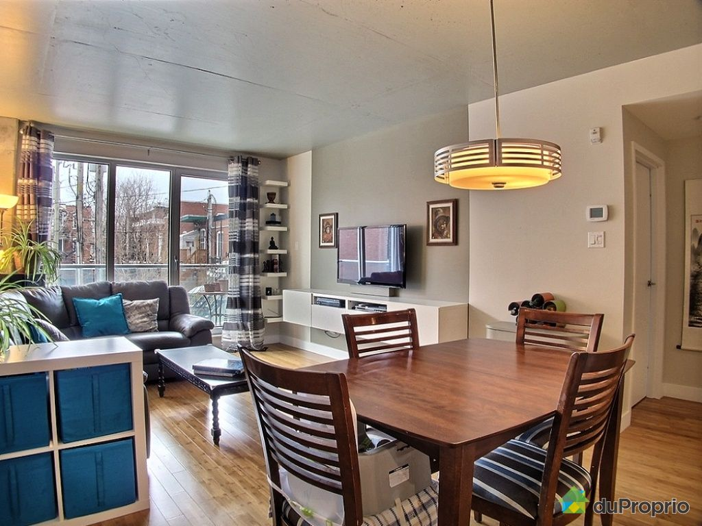 Condo vendu montr al immobilier qu bec duproprio 506610 for Cuisine ouverte tard montreal