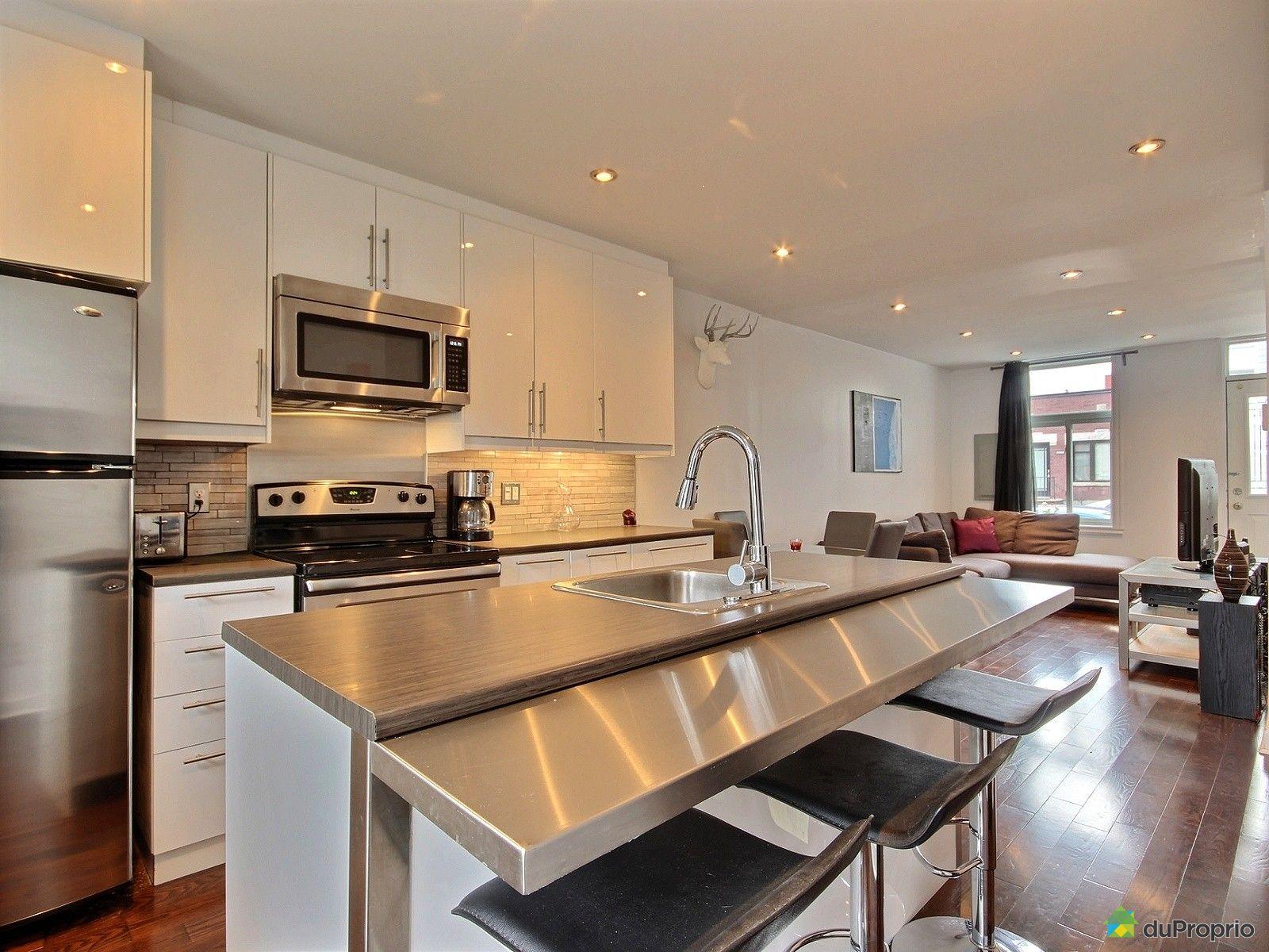 Duplex vendu montr al immobilier qu bec duproprio 665919 for Cuisine ouverte tard montreal