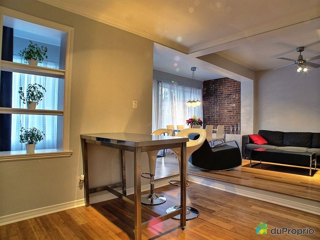 Duplex vendu montr al immobilier qu bec duproprio 385388 for Cuisine ouverte tard montreal