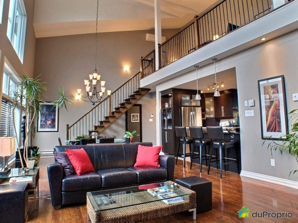 Gatineau hull vendre duproprio for Open concept loft
