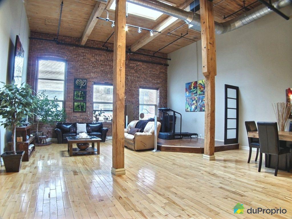 Loft vendu montr al immobilier qu bec duproprio 485094 for Immobilier loft