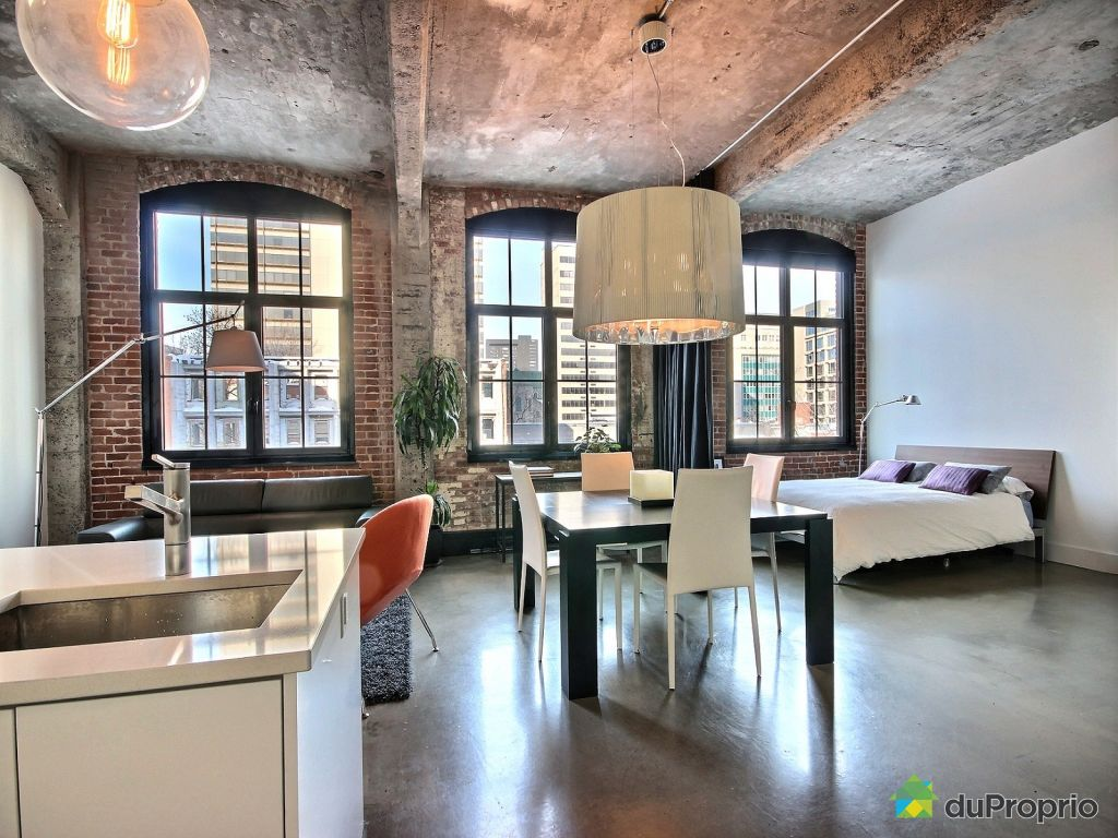 loft vendu montr al immobilier qu bec duproprio 578407. Black Bedroom Furniture Sets. Home Design Ideas