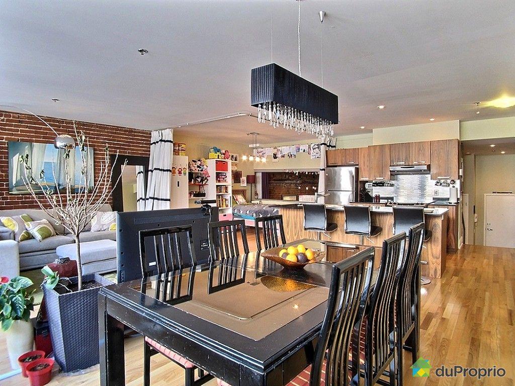 Loft vendu montr al immobilier qu bec duproprio 607757 for Cuisine ouverte tard montreal