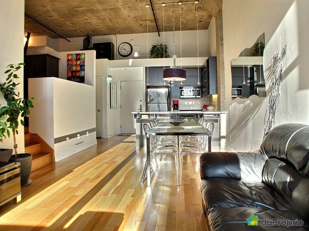Loft vendu montr al immobilier qu bec duproprio 368241 for Cuisine ouverte tard montreal