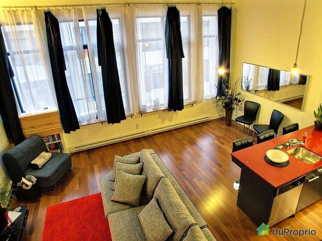 Loft vendu montr al immobilier qu bec duproprio 386604 for Cuisine ouverte tard montreal