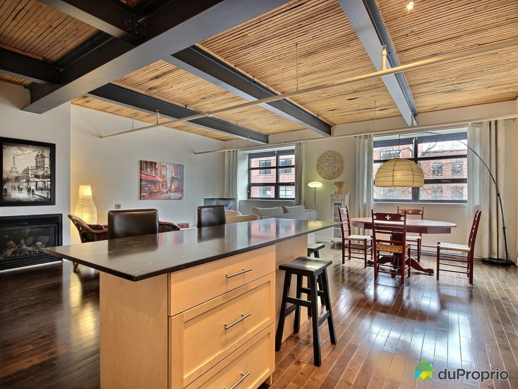 Loft vendu montr al immobilier qu bec duproprio 605891 for Immobilier loft
