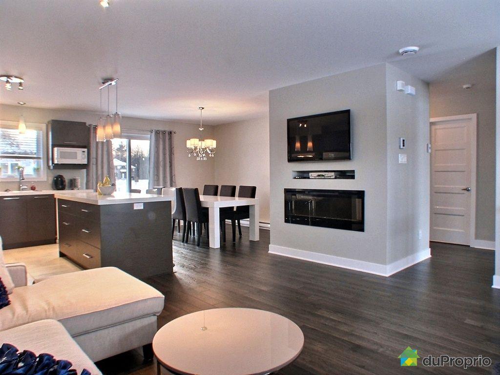 Maison neuve vendu mirabel immobilier qu bec duproprio - Cuisine et salon moderne ...