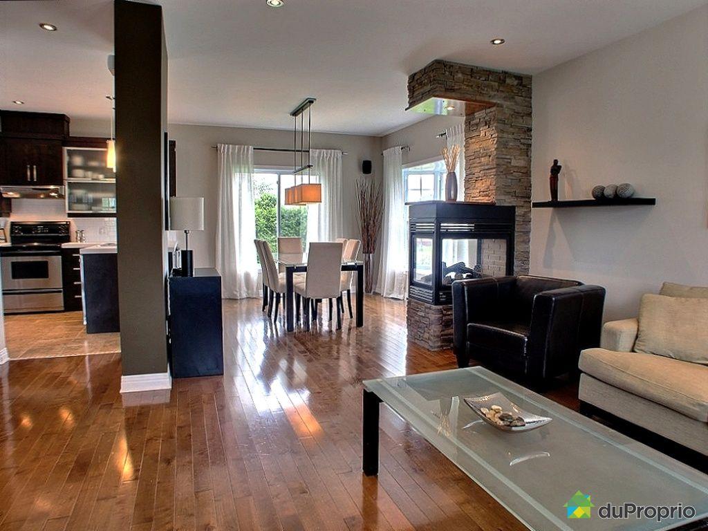 Maison vendu chambly immobilier qu bec duproprio 434278 for Couleur cuisine salon air ouverte