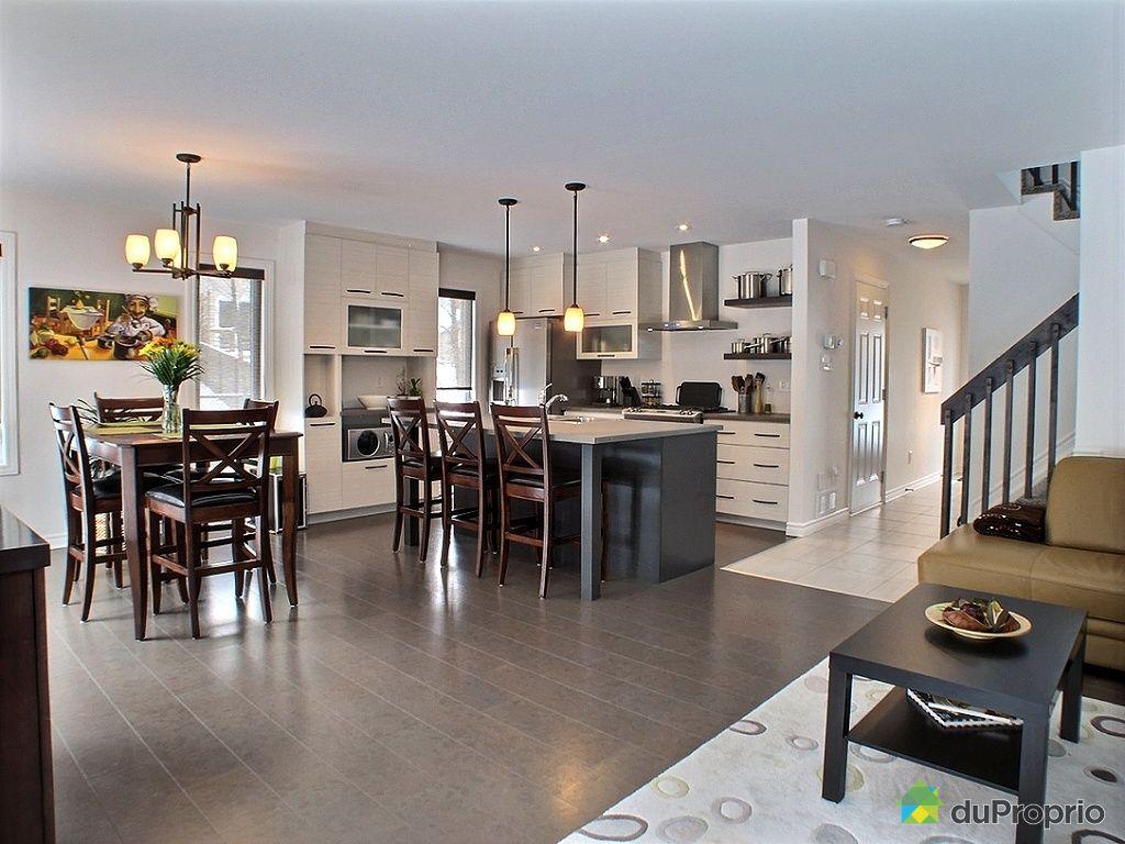 Maison vendre masson angers 105 rue ald leroux for Couleur cuisine salon air ouverte