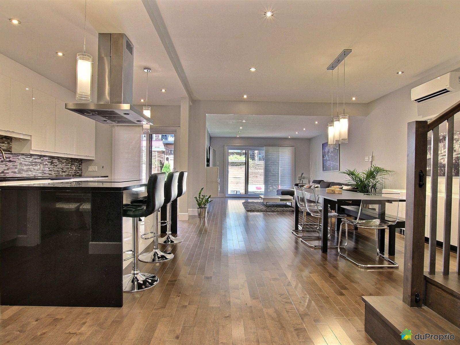 Rosemont la petite patrie vendre duproprio for Aire ouverte cuisine salon