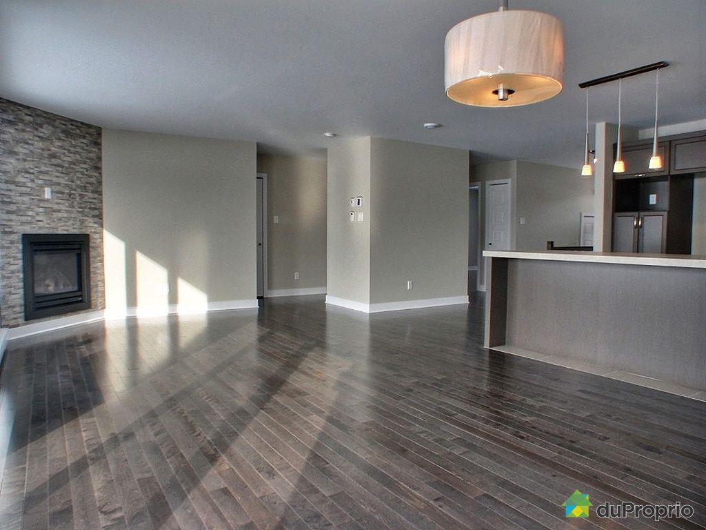 Maison neuve vendu st augustin de mirabel immobilier for Couleur cuisine salon air ouverte