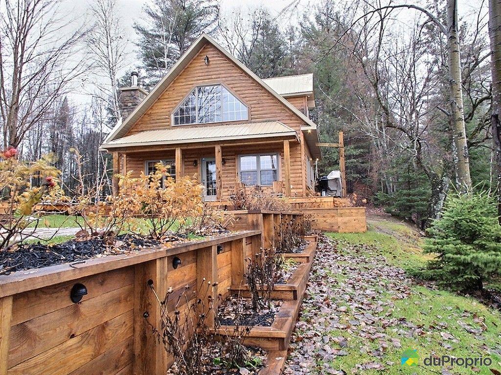 chalet vendu bowman immobilier qu bec duproprio 564528. Black Bedroom Furniture Sets. Home Design Ideas