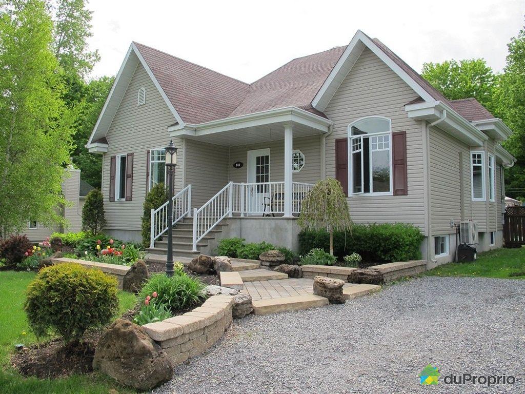 Maison vendu st lazare immobilier qu bec duproprio 423120 for Amenagement paysager facade
