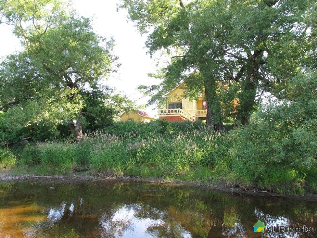 Maison vendre riviere ouelle 180 chemin du haut de la for Amenagement maison de campagne
