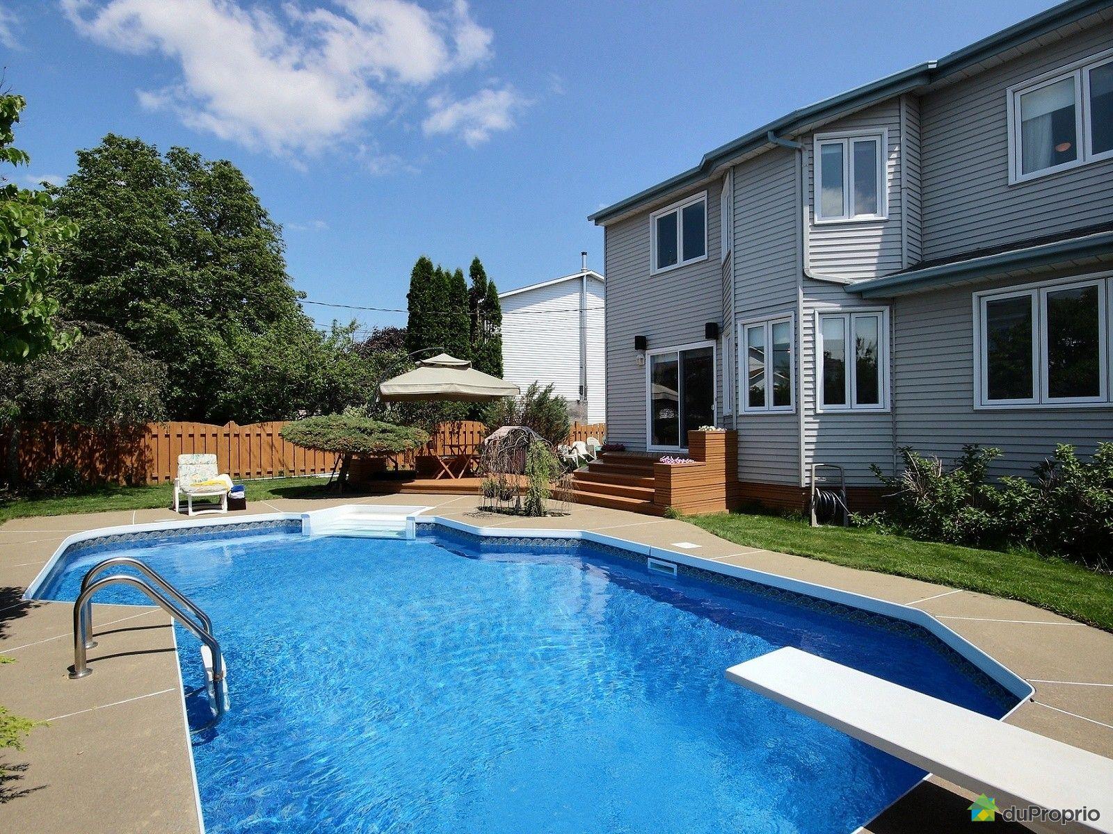 Maison vendu beloeil immobilier qu bec duproprio 615796 for Balayeuse piscine creusee