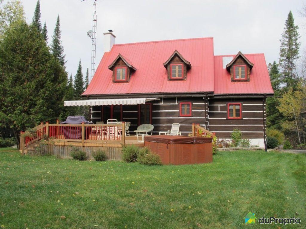 Maison vendu st adolphe d 39 howard immobilier qu bec for Acheter maison quebec canada