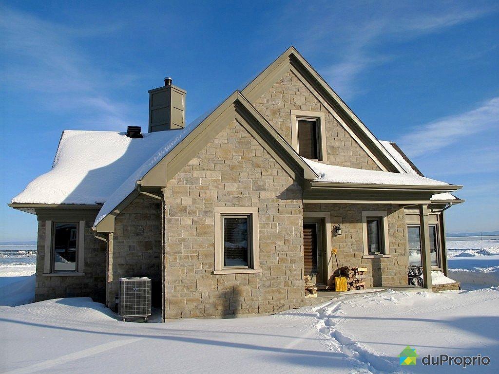 Maison vendre petite rivi re st fran ois 6 chemin du fleuve immobilier qu bec duproprio for Petite maison luxueuse