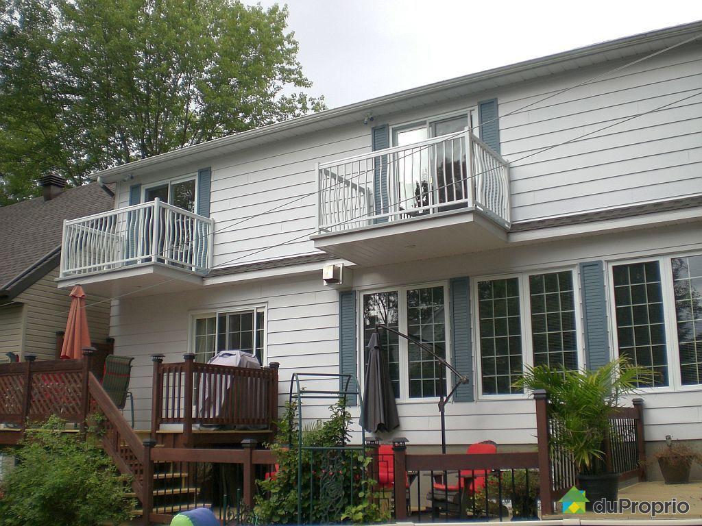 maison vendu ste marthe sur le lac immobilier qu bec duproprio 401673. Black Bedroom Furniture Sets. Home Design Ideas