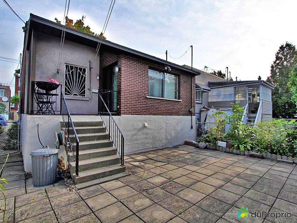 Maison vendu montr al immobilier qu bec duproprio 460673 for Acheter maison montreal quebec
