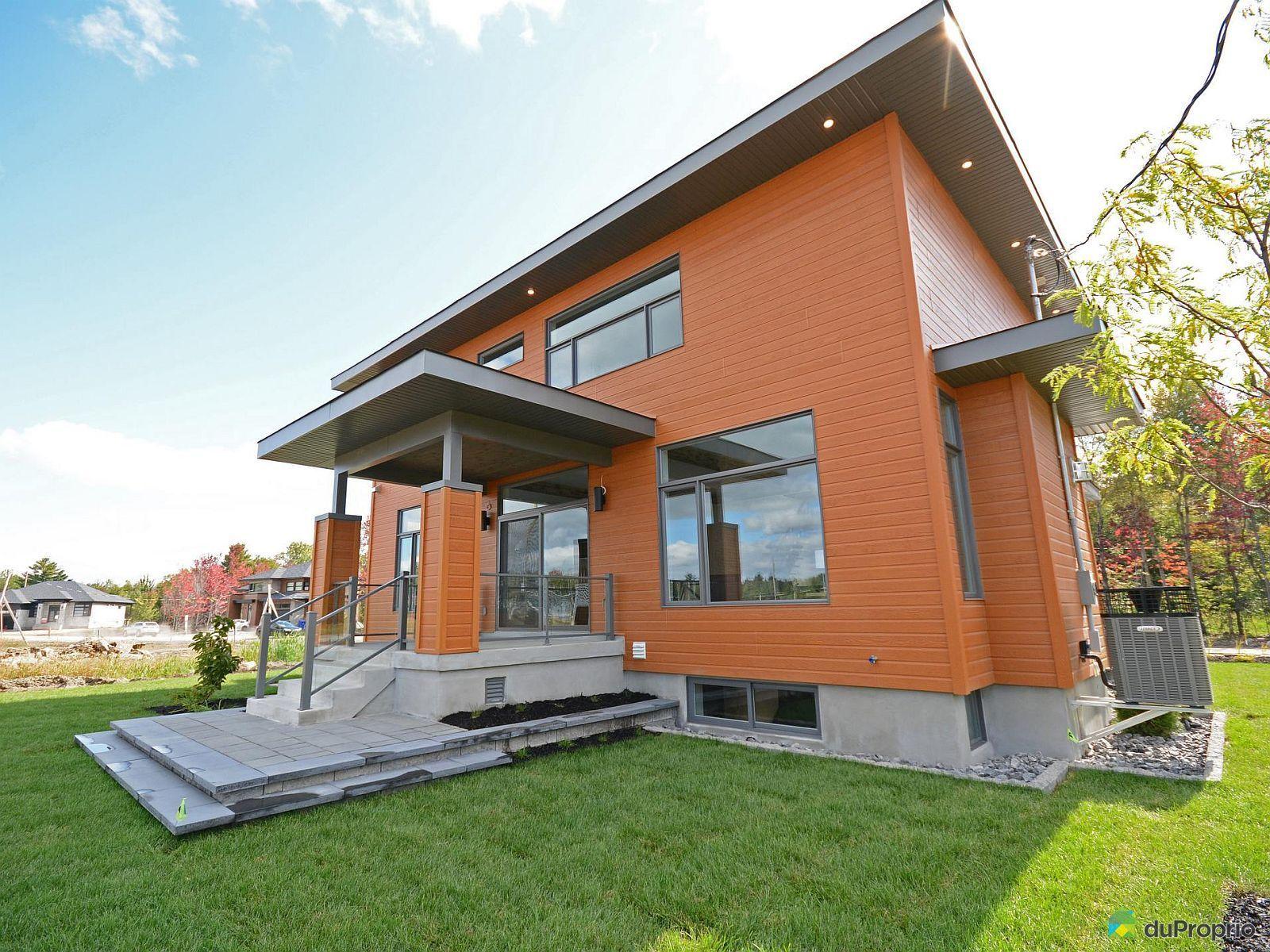 Maison neuve vendre blainville 3 rue de la licorne for Achat maison neuve ville de quebec