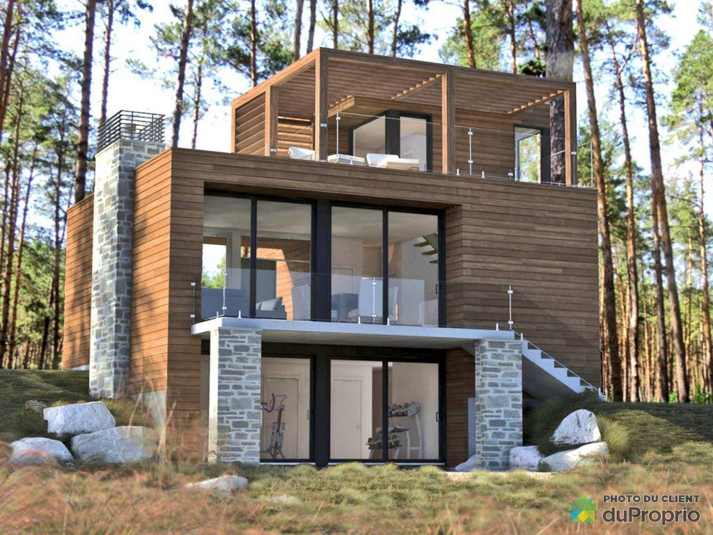 Maison neuve vendre mont tremblant 245 chemin jean marie par maisons lap - Maison a vendre par l etat ...