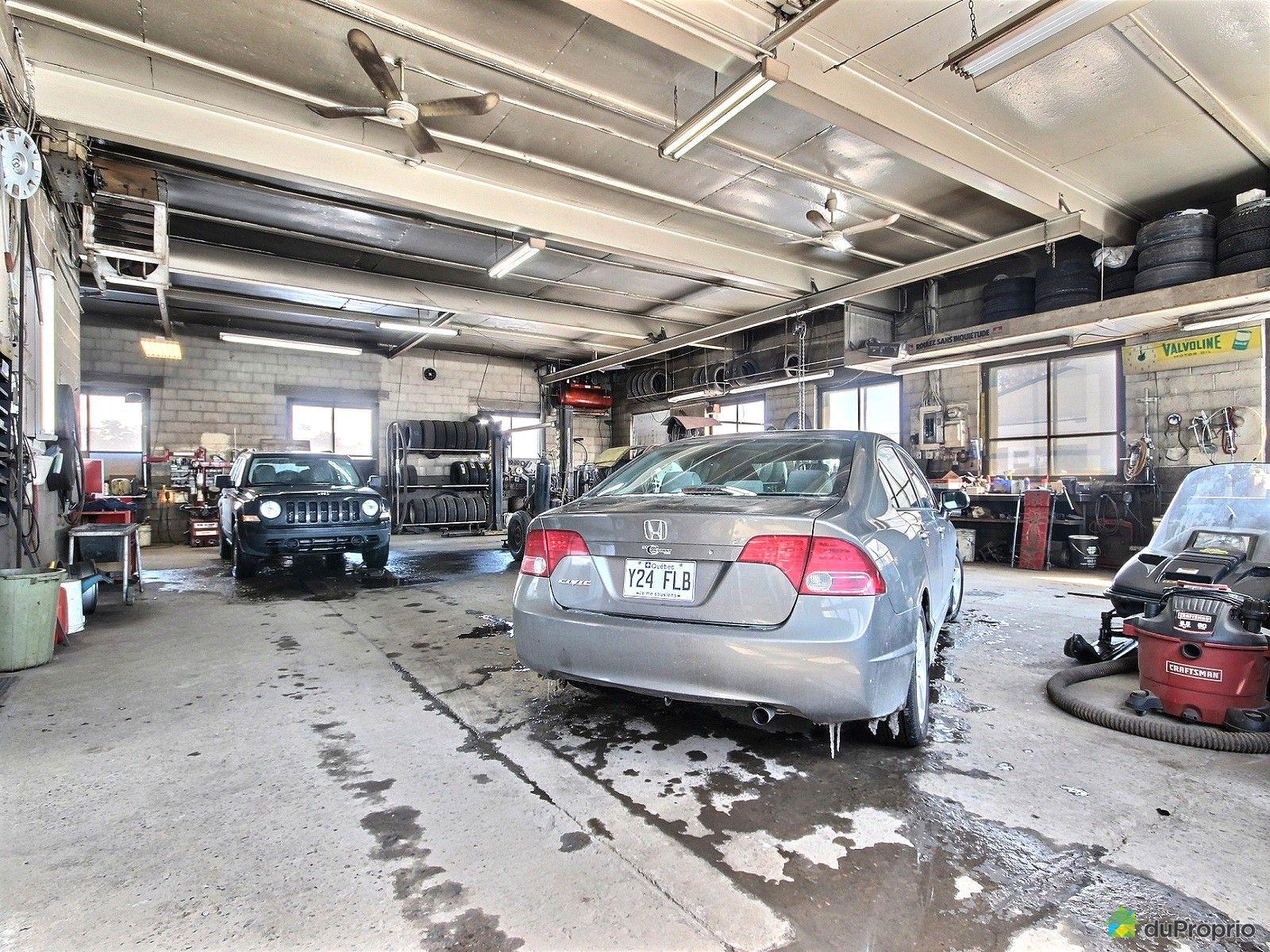 Garage vendre st edouard de lotbiniere 128 route for Garage desaffecte a vendre