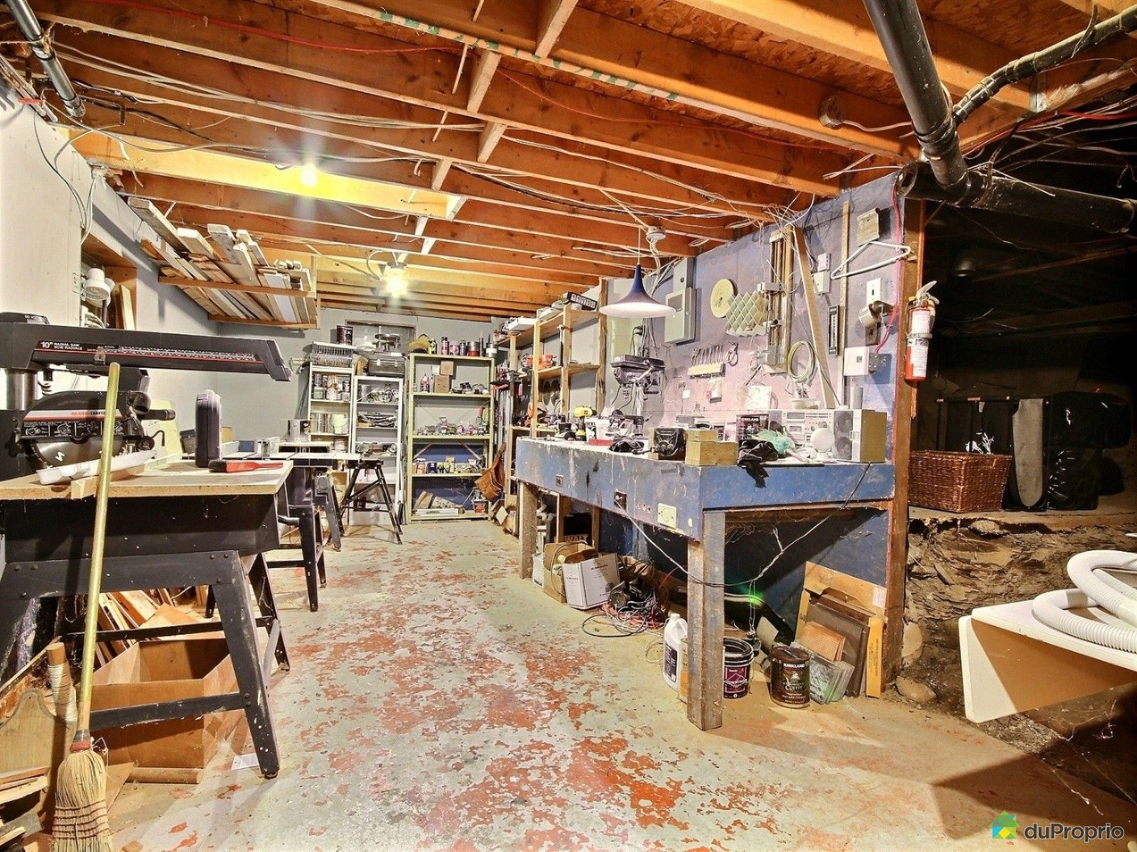 Maison vendu longueuil immobilier qu bec duproprio 602554 - Atelier menuiserie a vendre ...