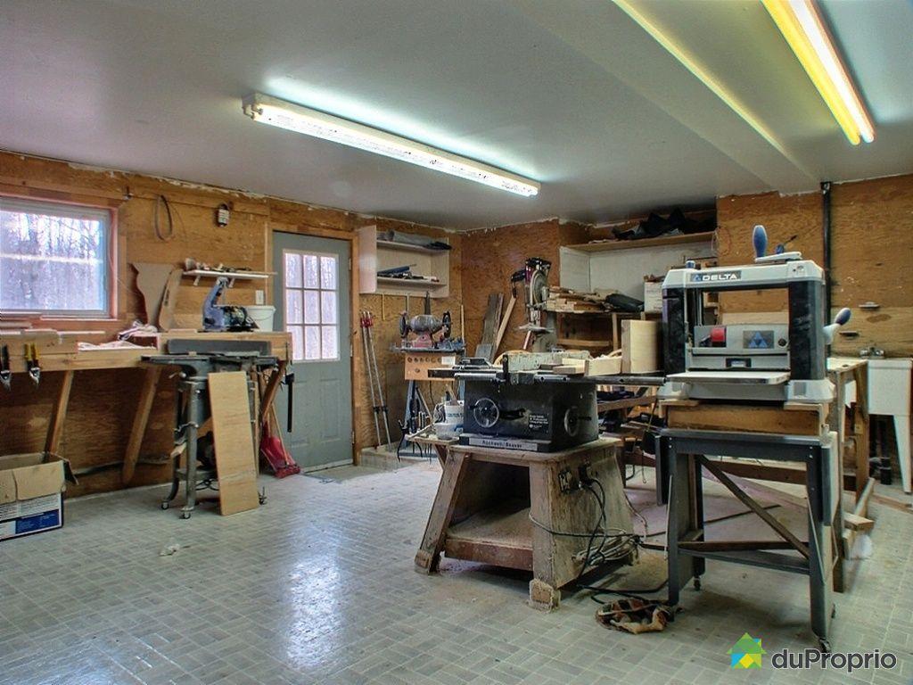 Maison vendu val des monts immobilier qu bec duproprio 237241 - Atelier menuiserie a vendre ...
