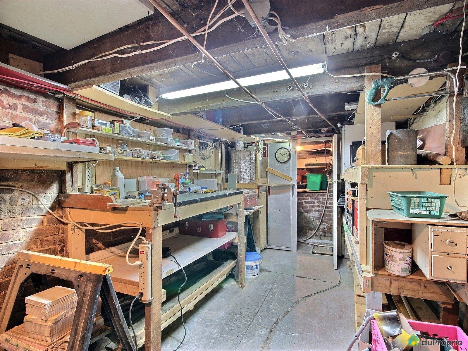 Triplex vendre montr al 2316 rue le caron immobilier qu bec duproprio - Atelier a vendre montreal ...