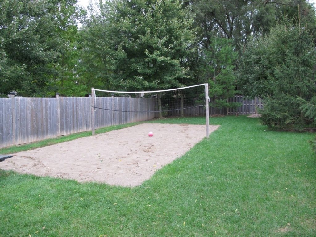 Backyard Sand Volleyball Court :  17> Images For  Backyard Sand Volleyball Court Dimensions
