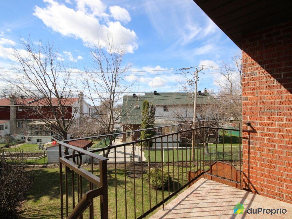 Condo vendre montr al 6596 place beaubien immobilier qu bec duproprio - Rangement balcon terrasse ...