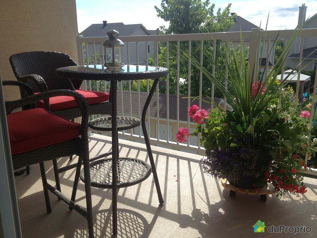 Condo sold in hull duproprio 462327 for Balcony upgrade