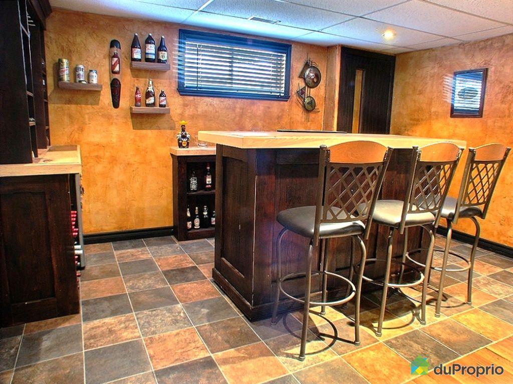Maison vendu trois rivi res immobilier qu bec duproprio 278298 for Bar sous sol maison
