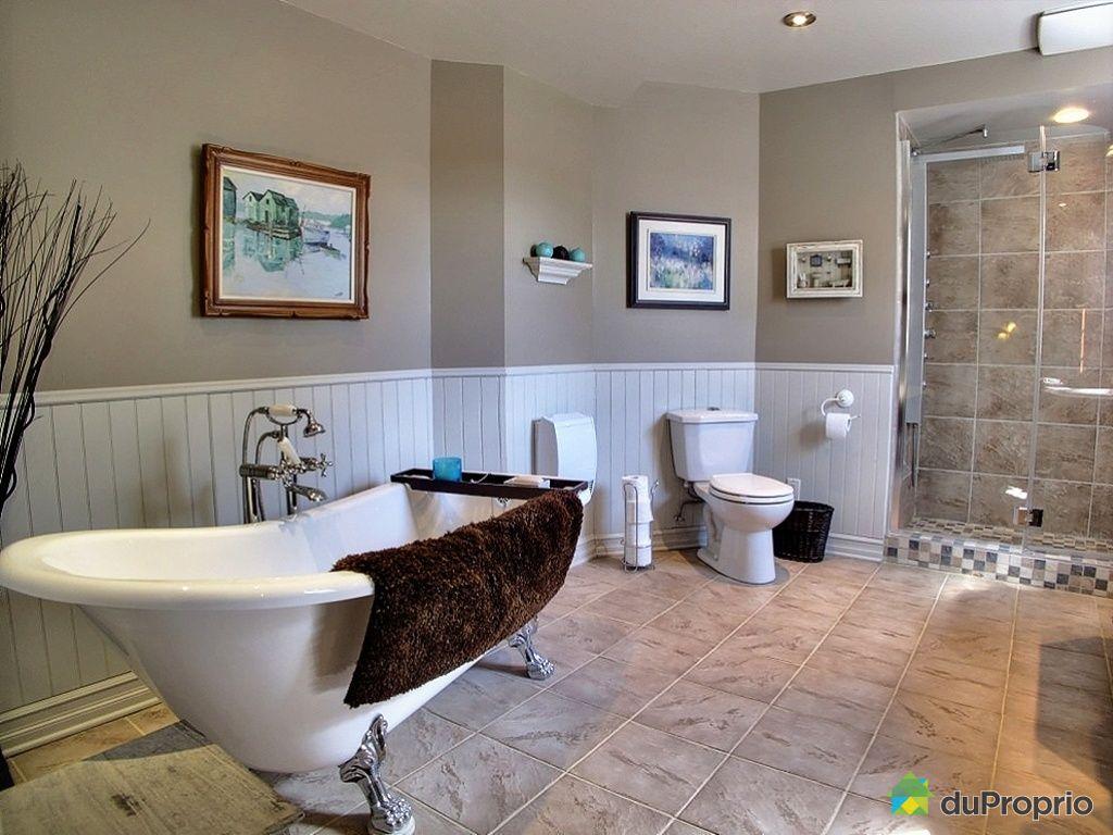 House for sale in ste genevi ve de berthier 880 rue - Salle de bain avec bain sur pattes ...