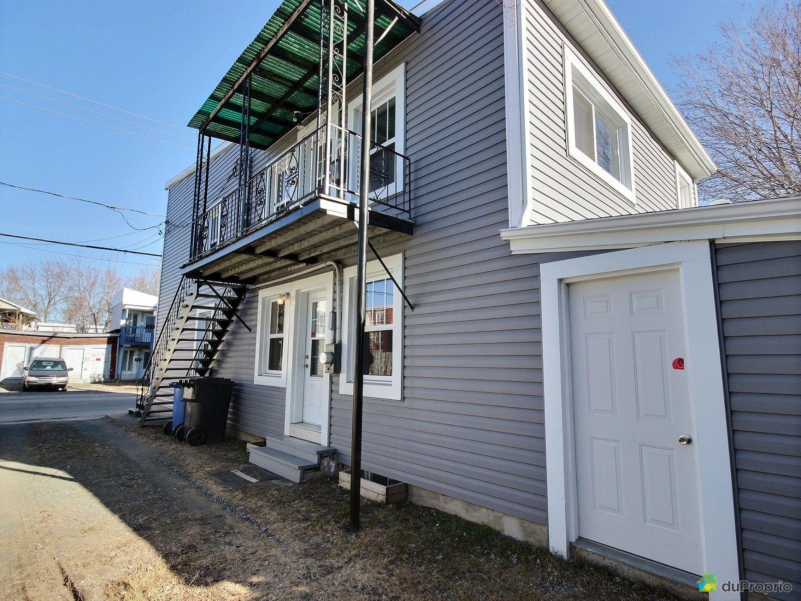 Duplex vendu trois rivi res immobilier qu bec duproprio for Porte et fenetre trois rivieres