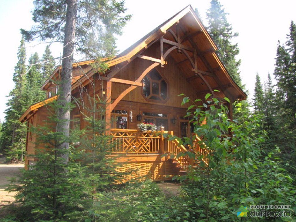 Maison a vendre lac edouard proprietes etangs a for Acheter une maison au canada quebec