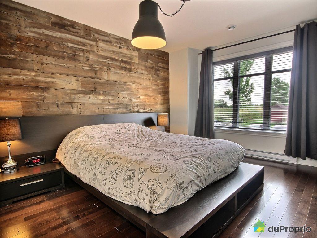 etonnant mur de chambre en bois 8 d corer un mur avec un. Black Bedroom Furniture Sets. Home Design Ideas