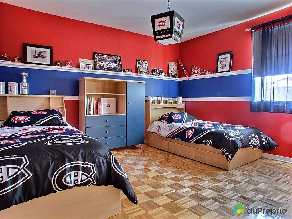 luminaire chambre hockey. Black Bedroom Furniture Sets. Home Design Ideas