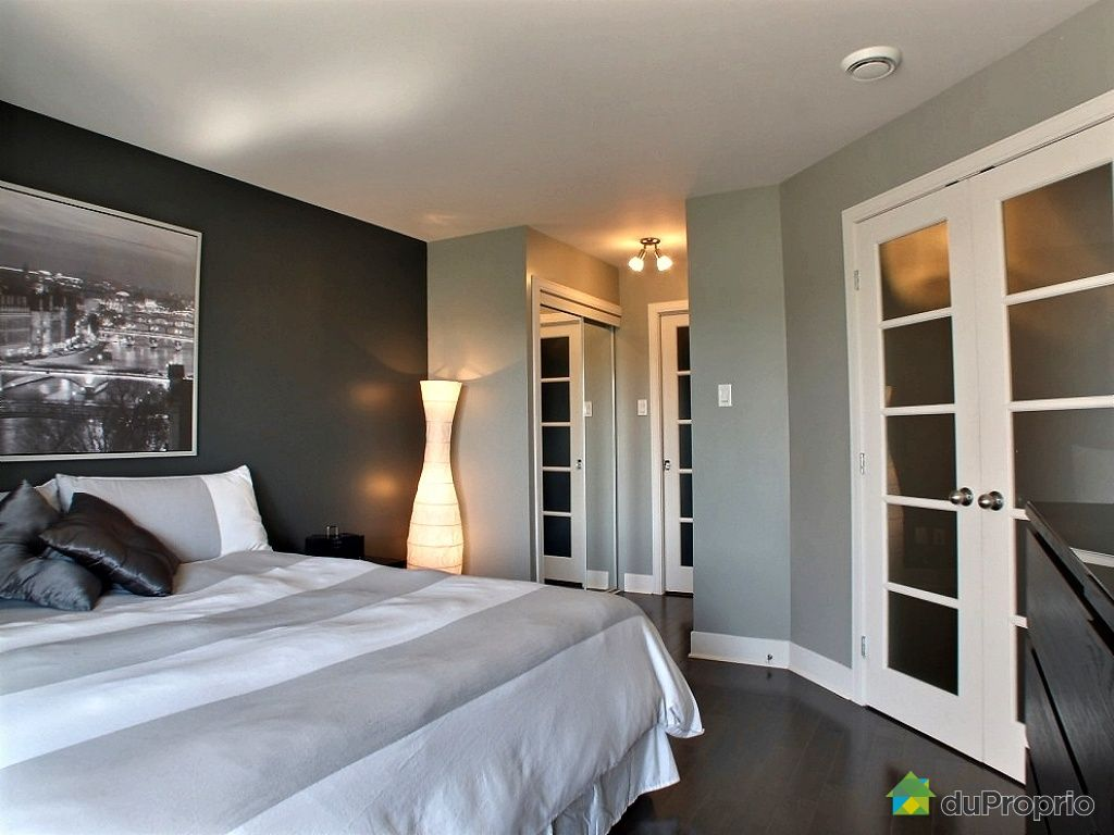 Beautiful chambre des maitres moderne images design for Decoration chambre quebec