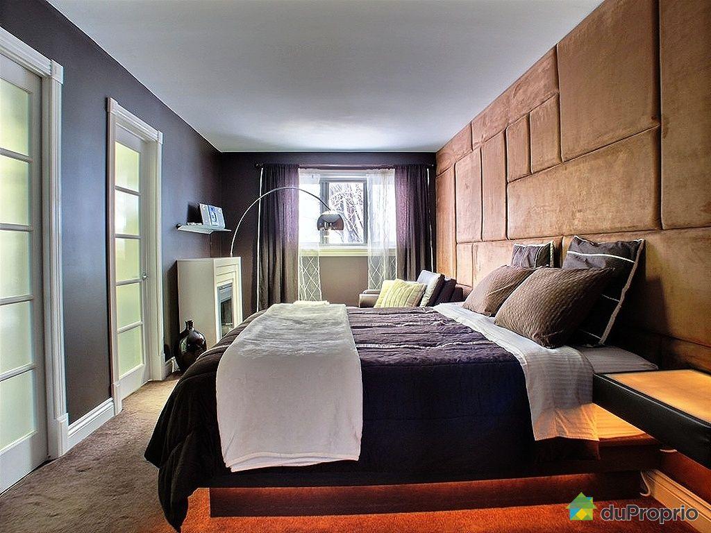 Chambre Maitre Moderne ~ Idées de Design D\'intérieur et De Meubles