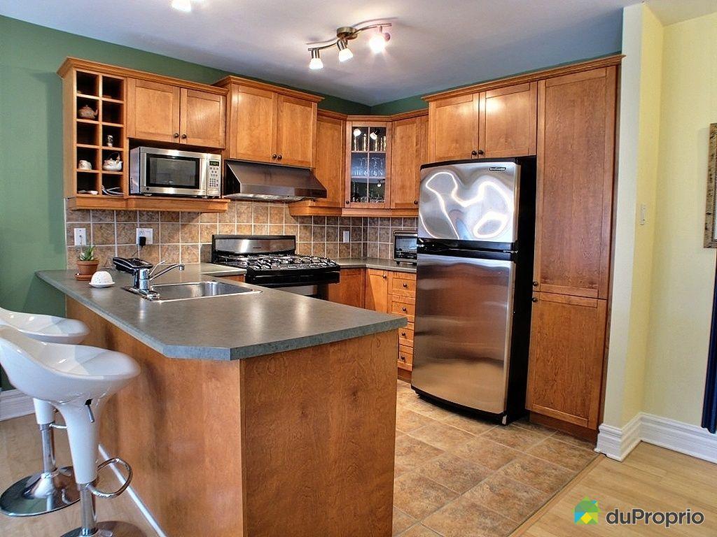 Condo vendu brossard immobilier qu bec duproprio 408357 - La cuisine de comptoir ...