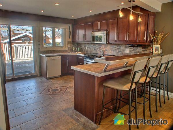 Maison vendu st hubert immobilier qu bec duproprio 300604 - Comptoir cuisine montreal ...