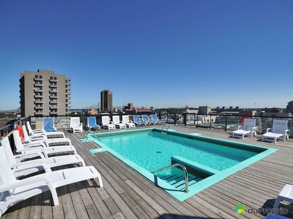 Condo vendu montr al immobilier qu bec duproprio 511595 for Cegep du vieux montreal piscine
