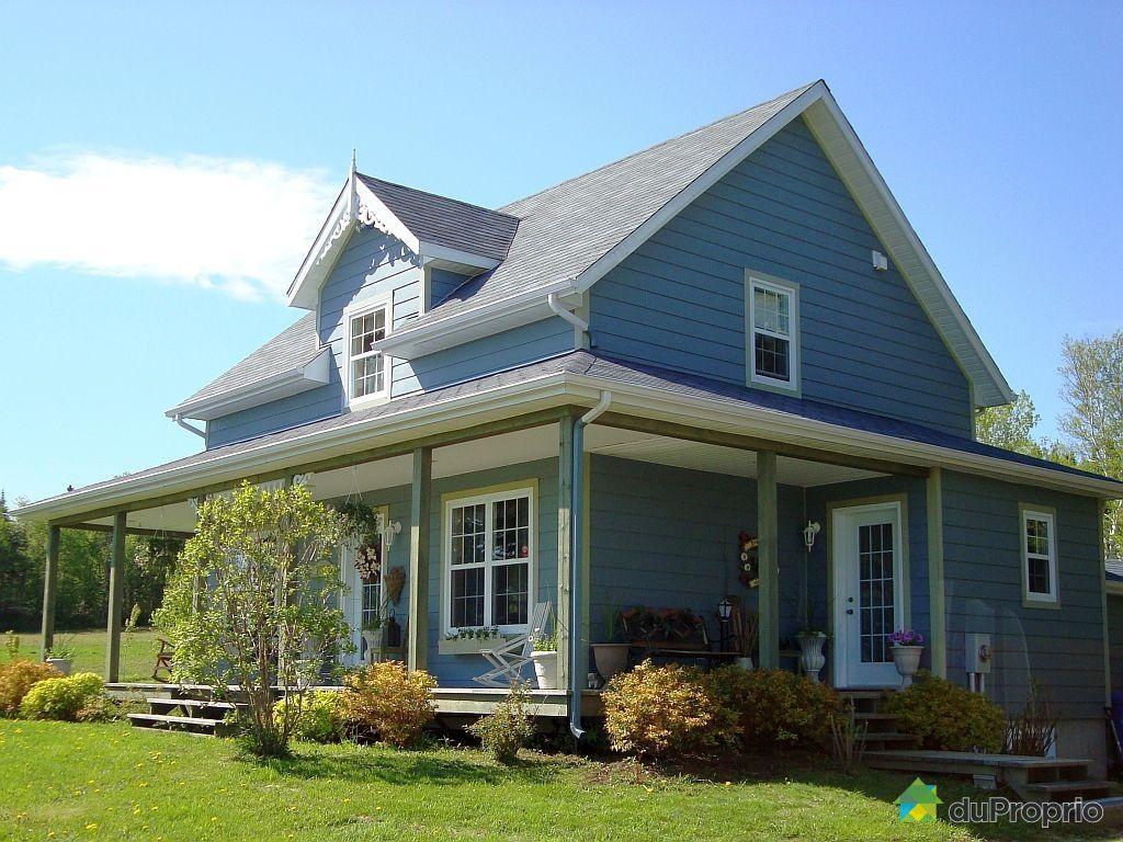 Maison vendu gasp immobilier qu bec duproprio 432266 for Acheter maison quebec