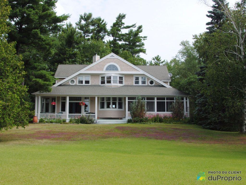Maison a vendre riviere outaouais proprietes etangs a for Acheter une maison au quebec