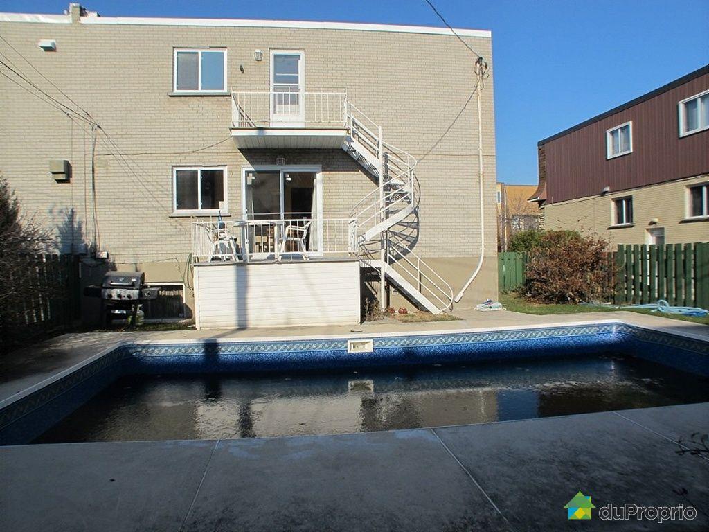 Duplex vendu laval des rapides immobilier qu bec for Cegep montmorency piscine